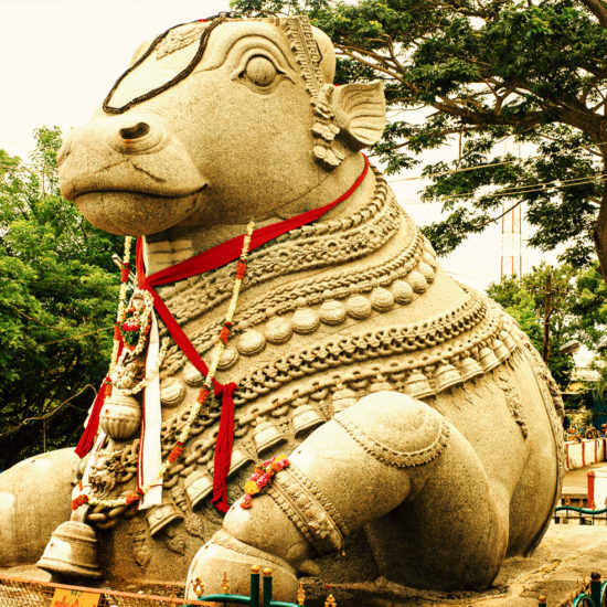 Nandi Statue near Chamundi Hills