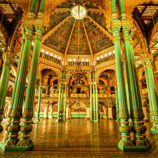 Inside of Mysore Palace