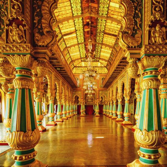 Splendid Corridors on Mysuru Palace