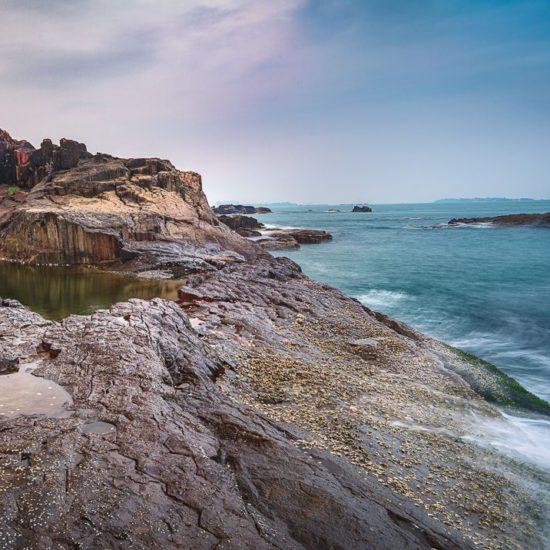 Basalt Rocks at St Marys Island near Mangalore