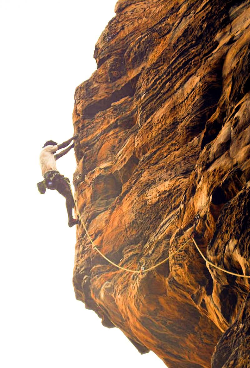 Badami Rock Climbing