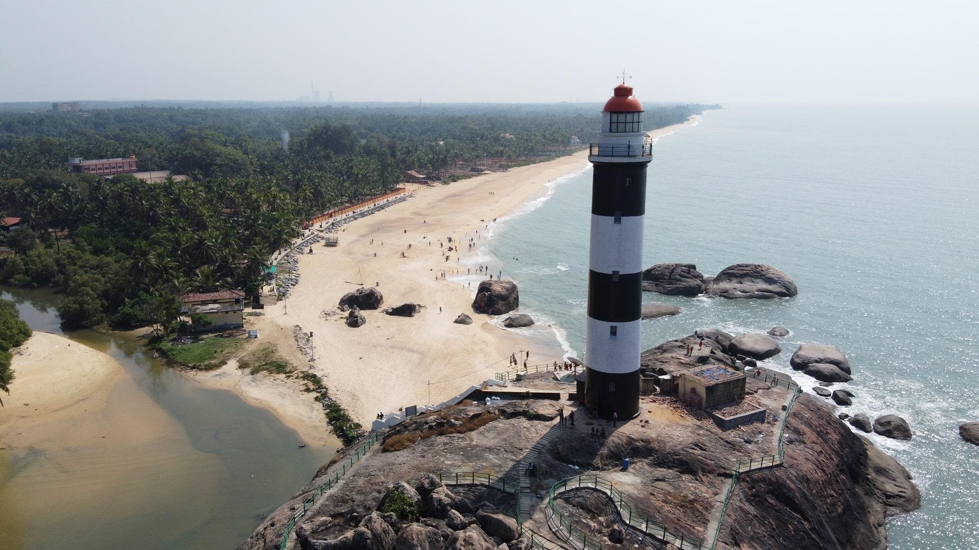 Kapu beach and lighthouse - Udupi tourism |Karnataka