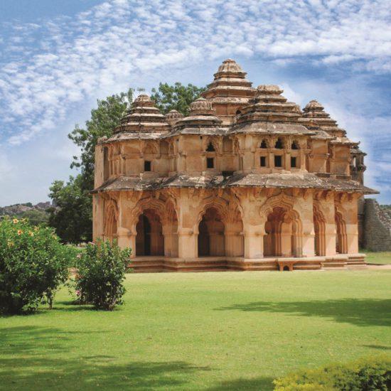 Lotus Mahal-Hampi