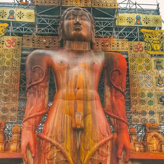 Mahamastakabhisheka - Gommateshwara Statue
