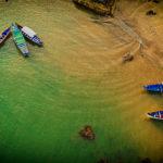 Om Beach Boats Gokarna