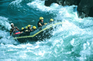 White Water Rafting on Kali River