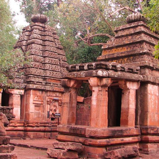 Shiva temple at Mahakoota Badami