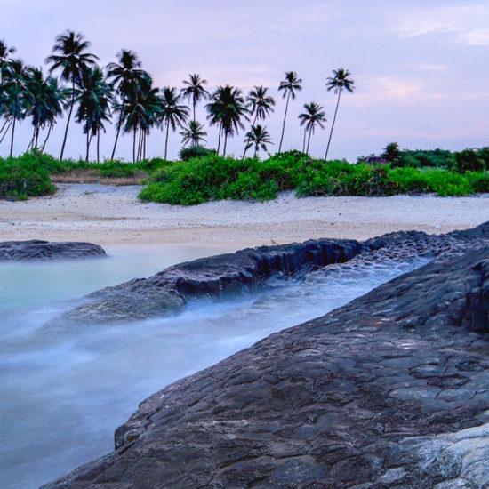 Twilight at St Mary's Island