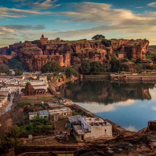 Upper & Lower Shivalaya - Badami
