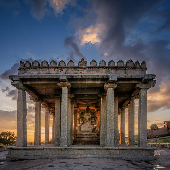 Sasivekalu Ganesha Temple - Hampi