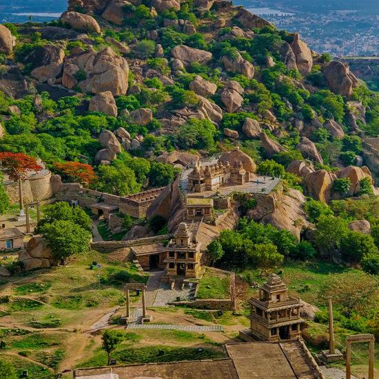 Chitradurga Fort_wide view