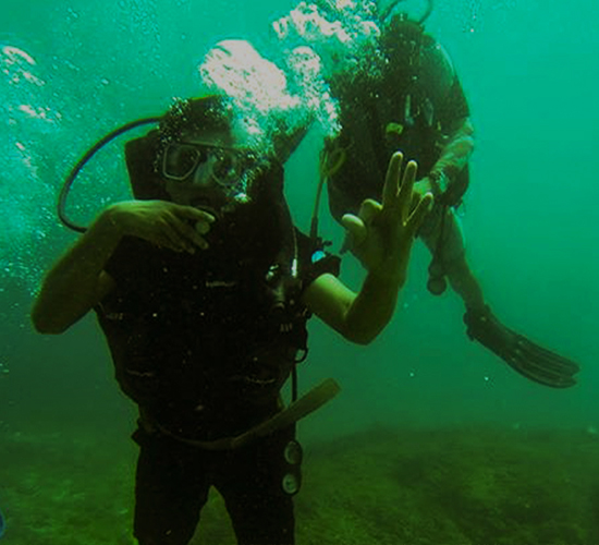 Scuba Diving in Netrani