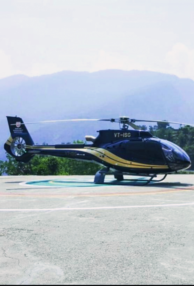 Chartered Helicopter