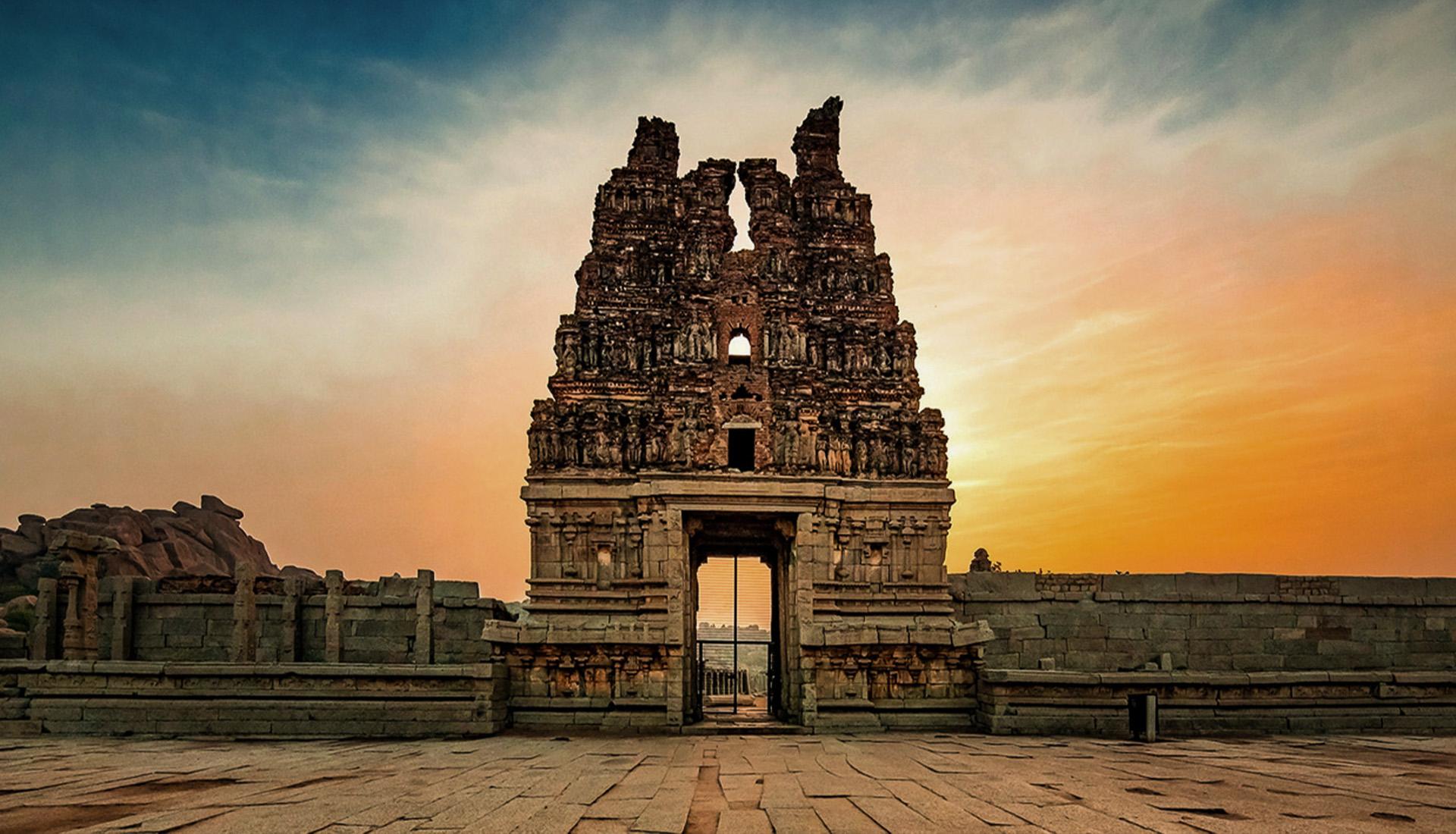 hampi- temple