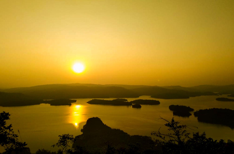 Sharavathi Adventure Camp Sunset